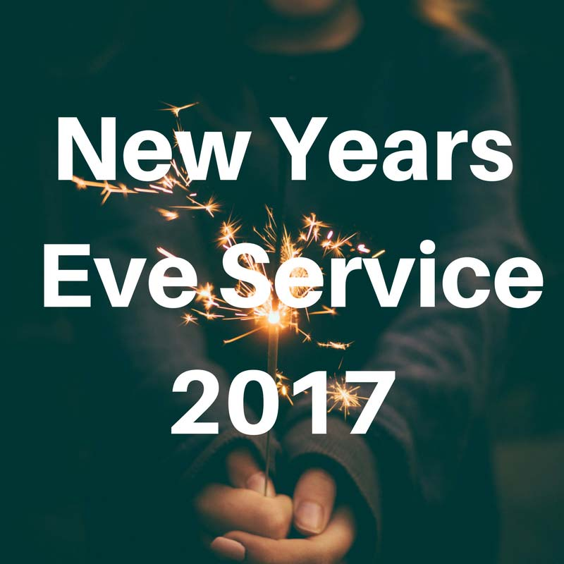 New Years Eve Service 2017